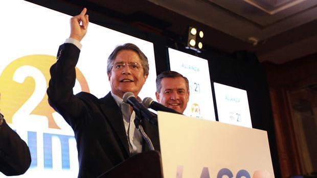 Guillermo Lasso, candidato de la oposición