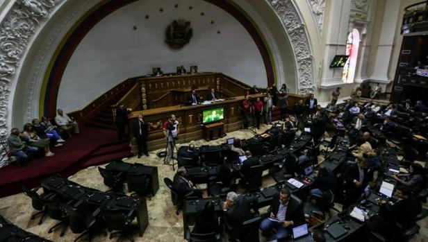 Vista general del Parlamento de Venezuela