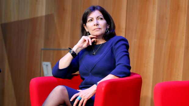 Anne Hidalgo, alcaldesa de París, en una imagen de archivo