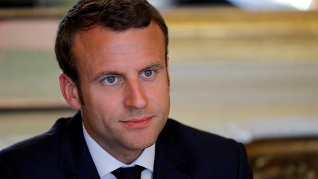 El nuevo presidente de Francia, Emmanuel Macron