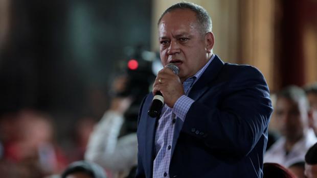 El dirigente chavista Diosdado Cabello