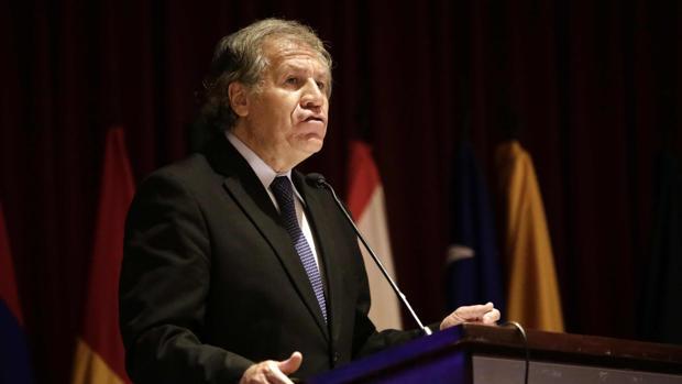 Luis Almagro, secretario general de la Organización de los Estados Americanos (OEA)