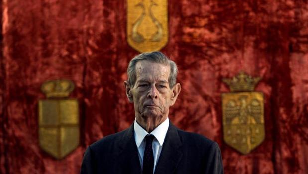 Imagen fechada en 2011 de Miguel I de Rumanía, que murió con 96 años