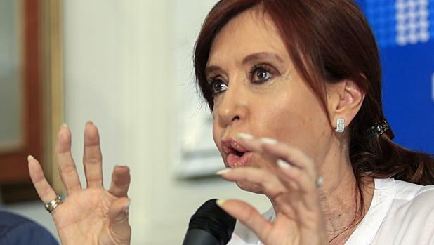 Cristina Fernández de Kirchner ofrece una rueda de prensa este jueves en el Congreso argentino