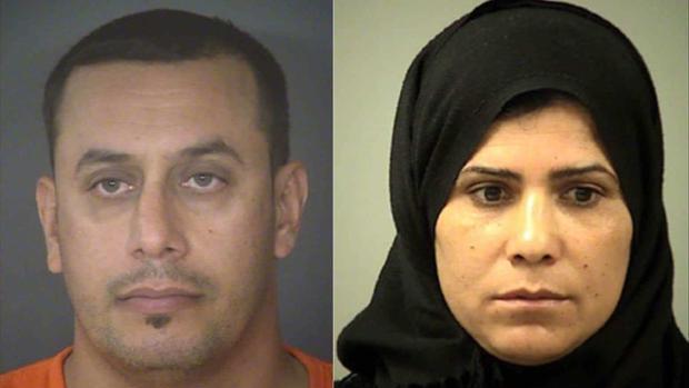 Abdulah Fahmi Al Hishmawi, de 34 años, y Hamdiyah Sabah Al Hishmawi, de 33, fueron arrestados acusados de violencia familiar