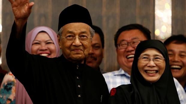 El nuevo primer ministro de Malasia, Mahathir Mohamad