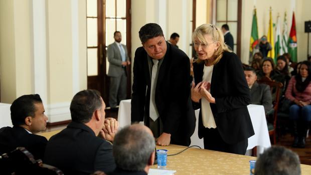 La fiscal general de Venezuela en el exilio, Luisa Ortega