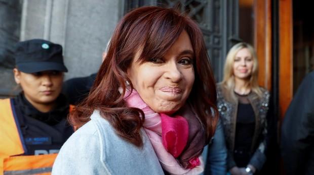 La ex presidenta argentina, Cristina Férnadez