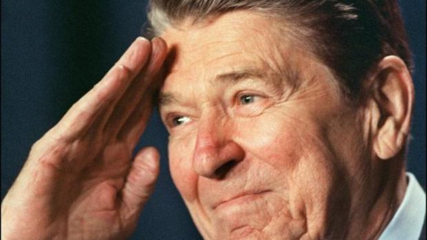 Ronald Reagan, en una imagen del 27 de enero de 1988