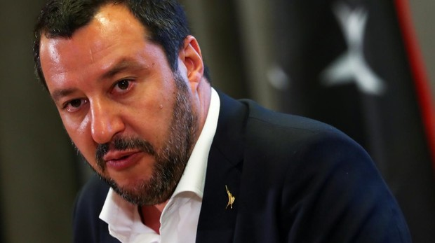 El líder de la Liga Norte, Matteo Salvini