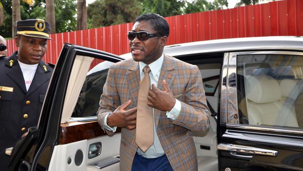 El vicepresidente de Guinea Ecuatorial e hijo del presidente del país, Teodorín Obiang, en una imagen de archivo