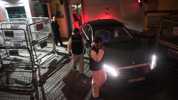 La policía turca registra la residencia del cónsul saudí en Estambul