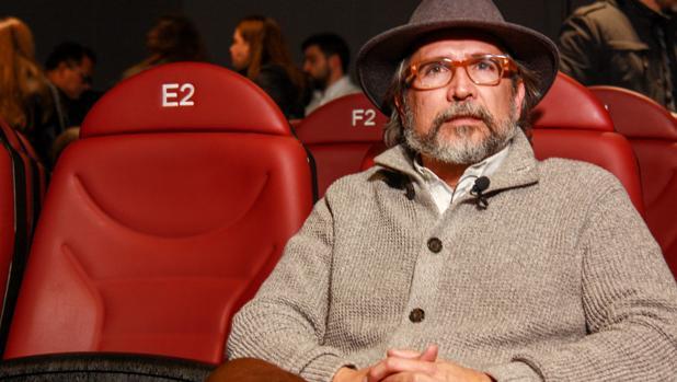 Gustavo Tovar posa para ABC tras la presentación de su documental en Madrid