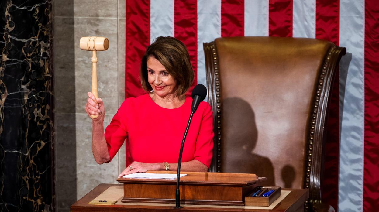 Nancy Pelosi, la mujer con más poder en la historia de EE.UU.