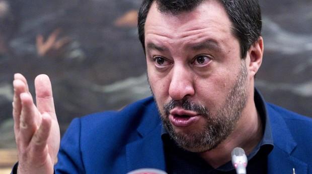 El vicepresidente de Italia Matteo Salvini