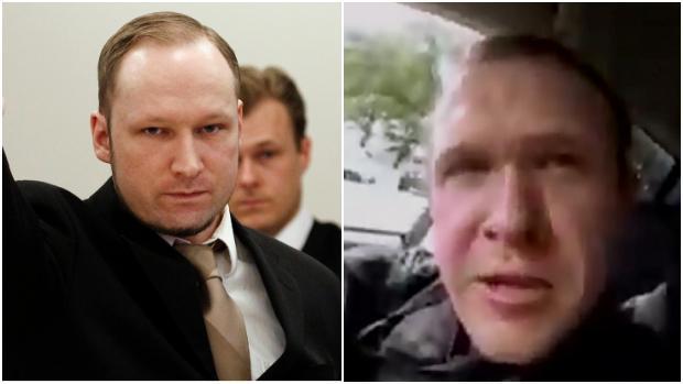Anders Breivik (izquierda) y Brenton Tarrant (derecha)