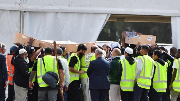 Khaled Mustafa, un refugiado sirio, y su hijo, Hamza, fueron asesinados el viernes junto a otras 48 personas por un joven australiano que odia a los inmigrantes musulmanes