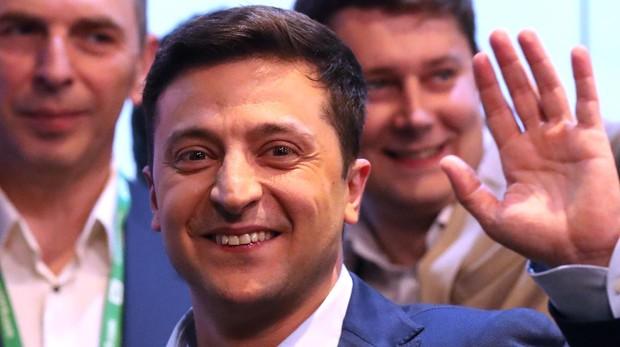 El presidente electo de Ucrania, Volodímir Zelenski
