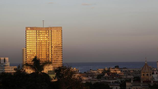Uno de los hoteles de la cadena Meliá en Cuba