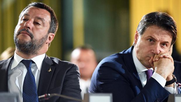 Matteo Salvini y Giuseppe Conte, el pasado 23 de mayo