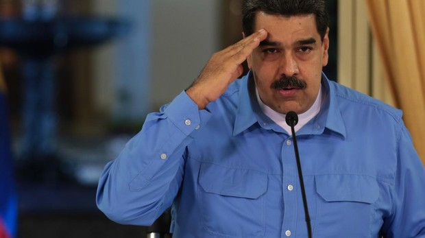 El líder chavista Nicolás Maduro