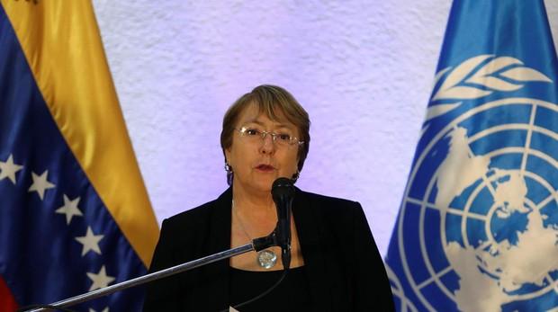 Michelle Bachelet, la Alta Comisionada para los Derechos Humanos de la ONU