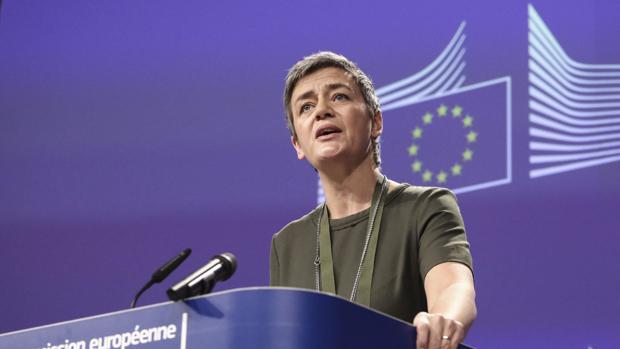 Margrethe Vestager, actual comisaria de Competencia y una de las favoritas para presidir la Comisión Europea