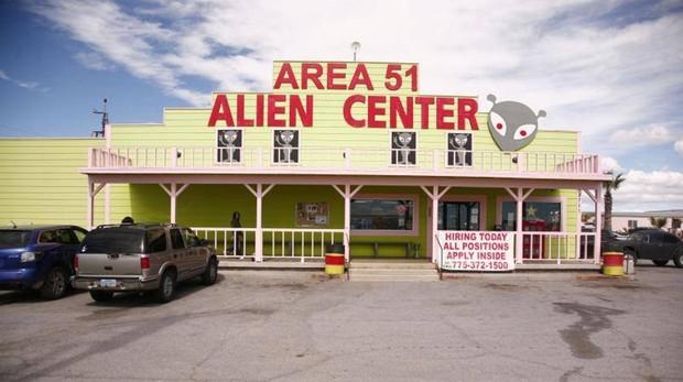 Atracción turística del Área 51, punto de encuentro antes del asalto del próximo 20 de septiembre