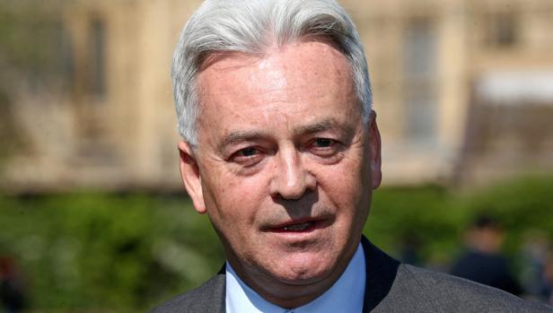 El dimisionario ministro británico encargado de las relaciones con Europa y América, Alan Duncan