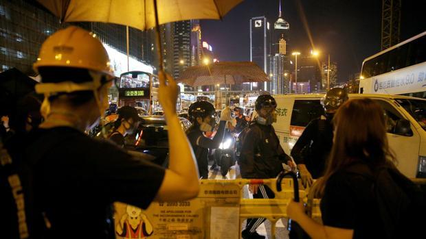 Histórica huelga general en Hong Kong contra el autoritarismo de China