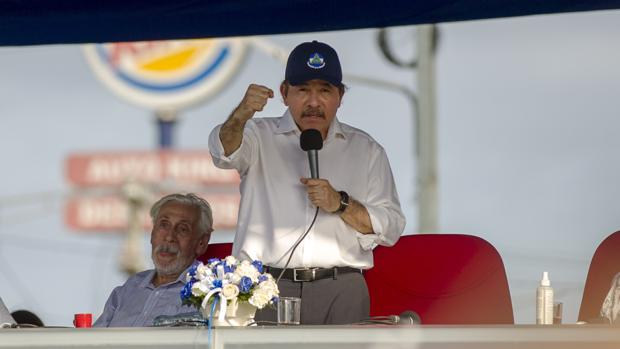 El presidente nicaragüense, Daniel Ortega