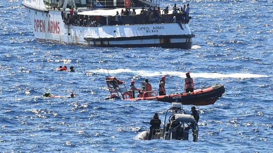 La Fiscalía de Agrigento califica la situación a bordo del Open Arms de «explosiva»