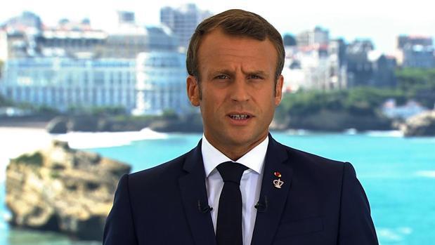 El presidente de la República francesa, Emmanuel Macron