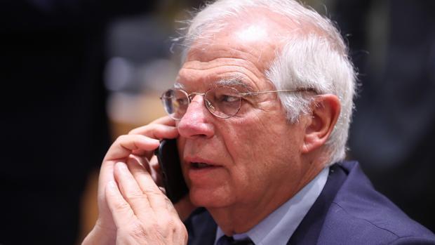 El ministro de Exteriores español en funciones, Josep Borrell, en 2018