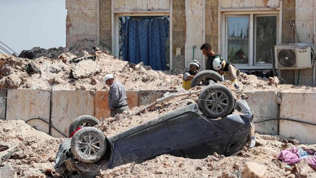Al menos 40 muertos en un ataque de EE.UU. contra Al Qaeda en el norte de Siria