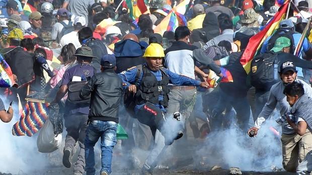 Bolivia vive la jornada más fuerte desde el estallido de las protestas