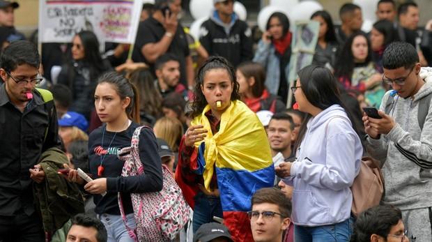 Las protestas llegan a Colombia: grandes marchas contra Iván Duque colapsan Bogotá y otras ciudades