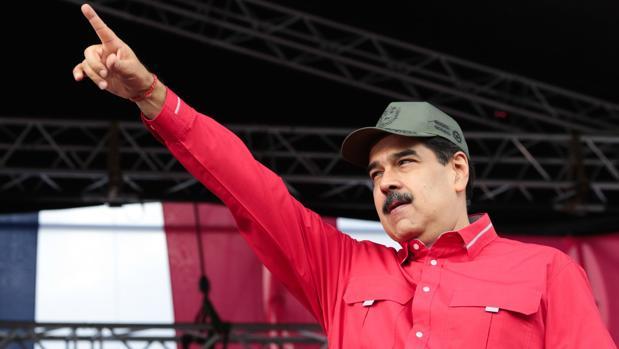 Nicolás Maduro, este jueves durante la celebración del Día del Estudiante