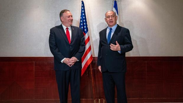 Pompeo se reúne de urgencia con Netanyahu en Lisboa