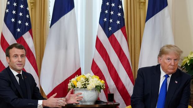 Trump y Macron llevan al límite su disputa sobre el futuro de la OTAN