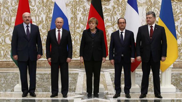 Putin y Zelenski se reúnen hoy por fin en París para hablar del conflicto en Donbass