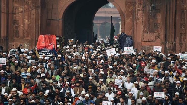 La India se vuelca contra la ley de inmigración que excluye a musulmanes