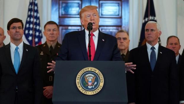 En directo: Trump responde al ataque de Irán a EE.UU.