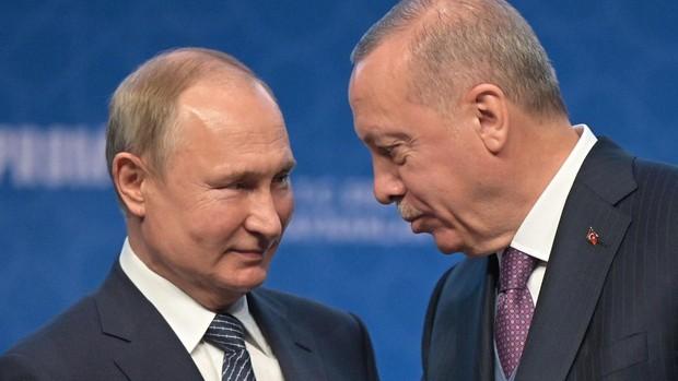 Putin y Erdogan abogan por evitar «un nuevo incendio» en Oriente Próximo