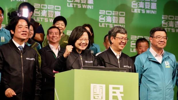 Reelegida la presidenta de Taiwán en un claro rechazo a la unificación con China