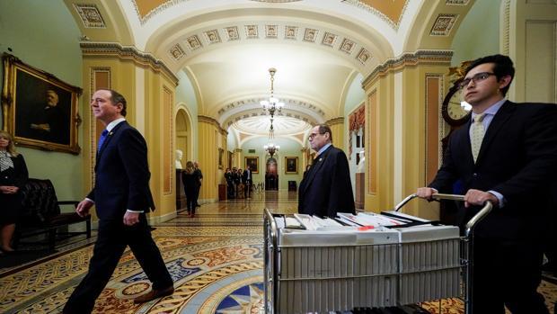El Congreso de EE.UU. se aburre durante el «impeachment»