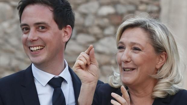 El partido de Marine Le Pen está al borde de la bancarrota