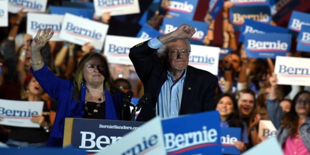 Sanders sale de Nevada como favorito para la nominación demócrata