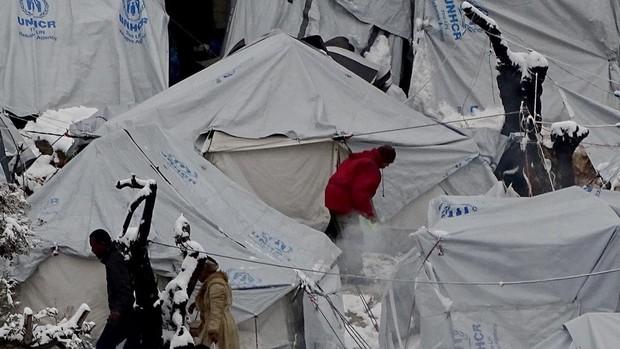 Tensión en Grecia por la construcción de nuevos centros para inmigrantes