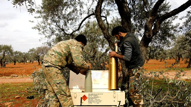 Turquía lleva la guerra de Siria a las fronteras de Europa